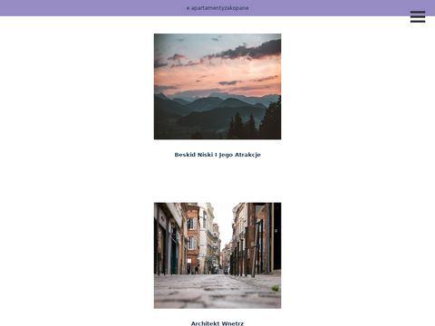 E-apartamentyzakopane.pl noclegi Tatry