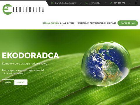 Ekodoradca.com pozwolenia środowiskowe