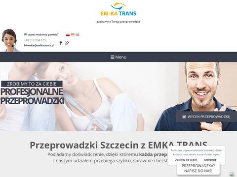 Em-Ka Trans bagażówki Szczecin