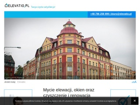Elevatio.pl mycie elewacji