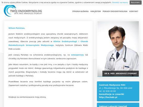 Endokrynolog-lodz.pl dr Zygmunt