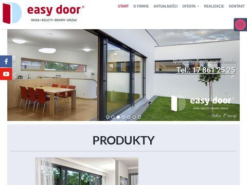 Easydoor.pl producent bram garażowych