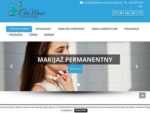 Efektmotyla-krakow.pl - manicure hybrydowy