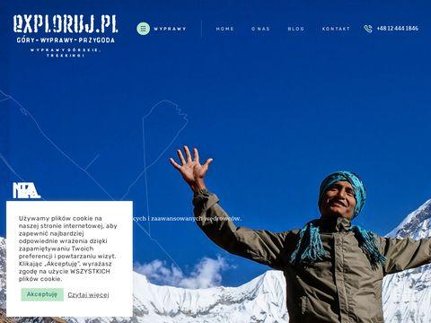 Exploruj.pl wyprawy w góry