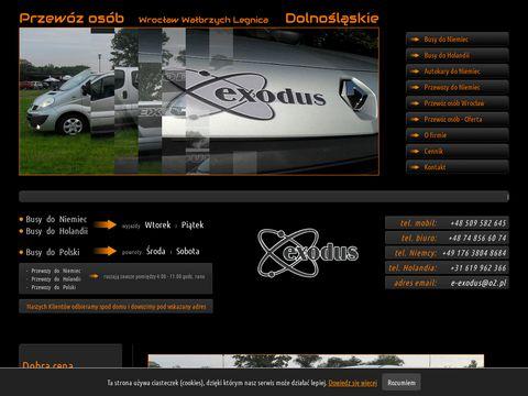 Exodusinfo.eu autokary do Niemiec