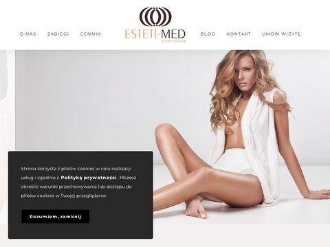 Esteti-med.pl zabiegi kosmetyczne