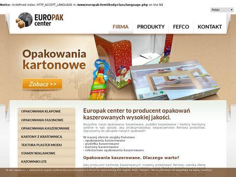 Europak-center.com.pl - opakowania