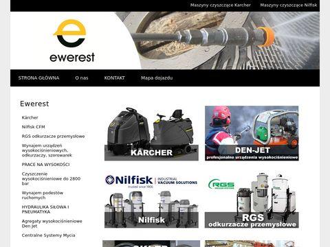 Ewerest.pl czyszczenie hydrodynamiczne