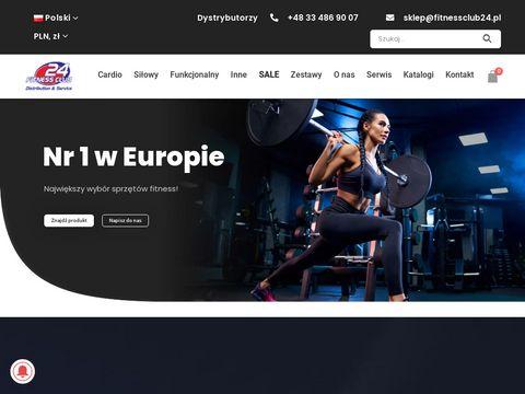 Fitnessclub24.pl sprzęt siłowy