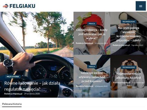 Felgiaku.pl Fabjanski alufelgi akumulatory opony