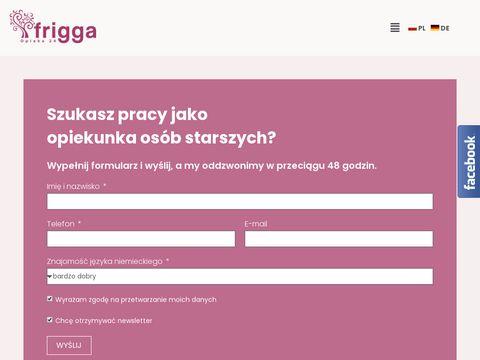 Friggawork.pl praca Niemcy opieka