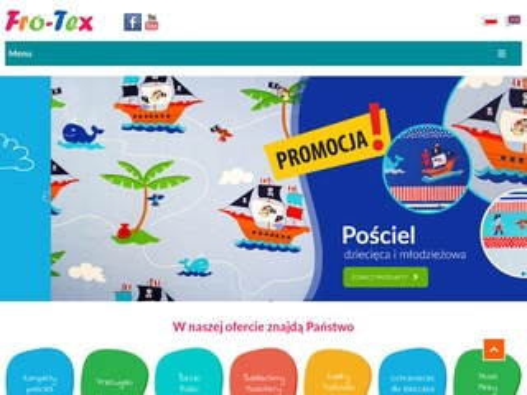 Fro-tex.pl pościel dziecięca