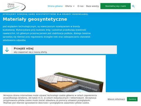 Fram-geo.pl mata drenażowa geokompozyt