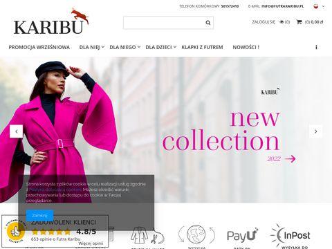 Futrakaribu.pl odzież damska męska