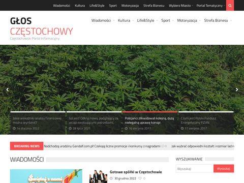 Glosczestochowy.pl portal regionalny
