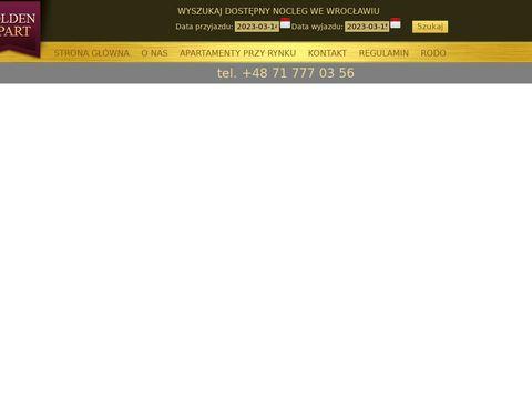 Apartamenty Wrocław goldenapartments.pl