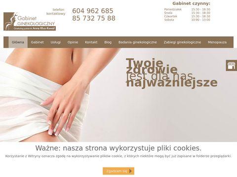 Anna Barbara Kluz-Kowal Dr n. med. Białystok