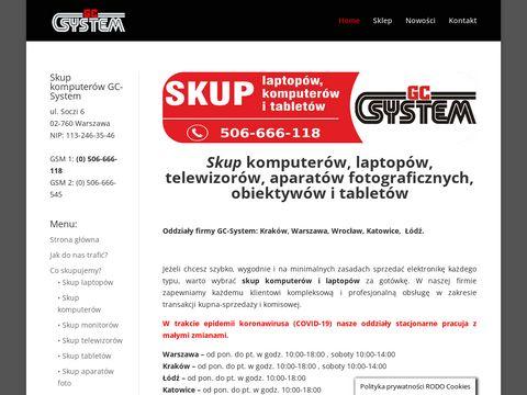 GCSystem.pl skup telewizorów