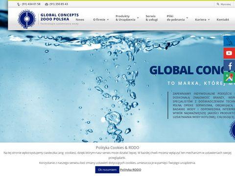 Global Concepts 2000 zmiękczacze wody