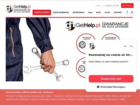 Gethelp.pl używane z gwarancją