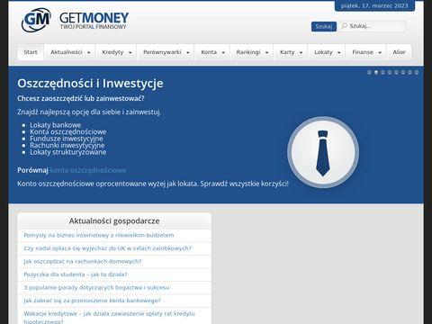 Get-Money.pl pożyczki pozabankowe i bankowe
