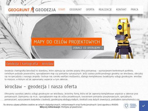 Geogrunt - Geodezja Wrocław