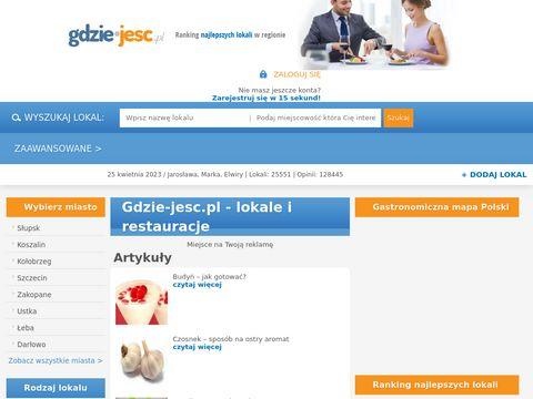 Gdzie-jesc.pl opinia o lokalach