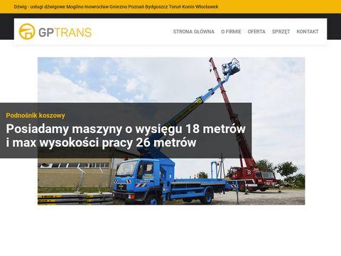 GP Trans usługi dźwigowe