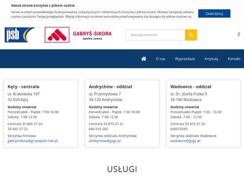 Gabryś-Sikora materiały budowlane