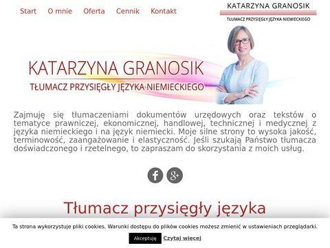 Granosik-tlumacz.pl