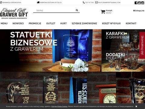 Grawergift.pl - prezenty ślubne