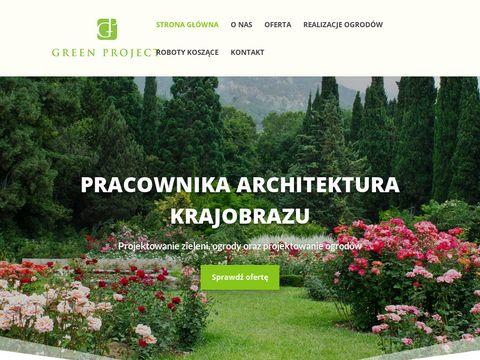 Greenproject.pl architektura zieleni