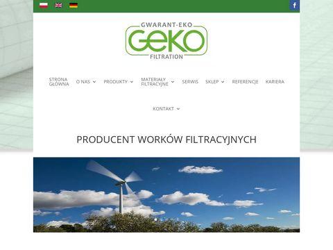 Gwarant-Eko s.c. - worki filtracyjne