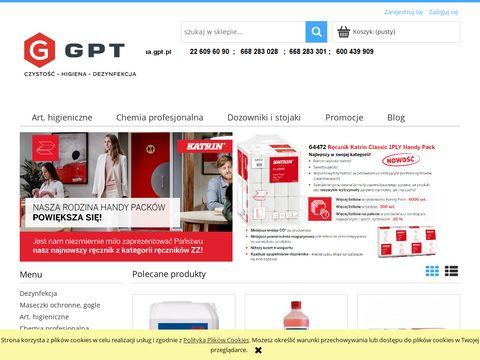 Higienagpt.pl środki dezynfekcyjne