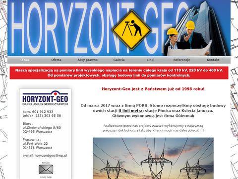 Horyzont-geo.waw.pl - geodezja