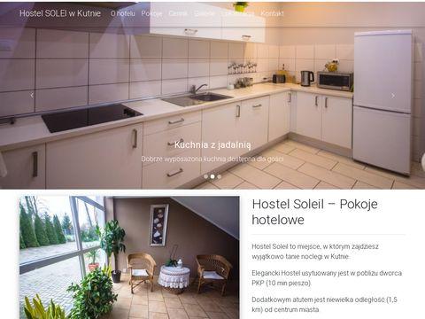 Hostelsoleil.pl - noclegi w Kutnie
