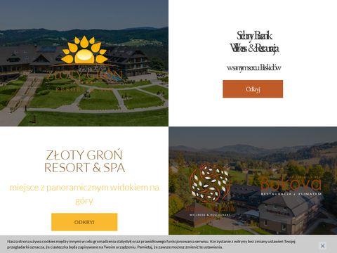 Hotelzlotygron.pl w Beskdach