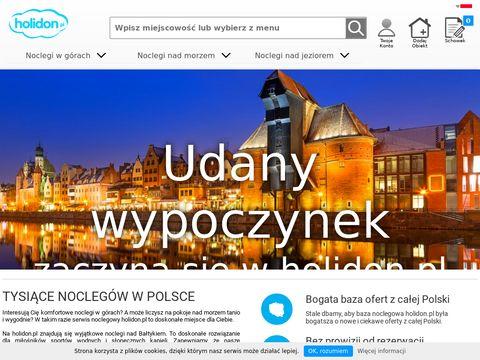 Holidon.pl - noclegi nad jeziorem