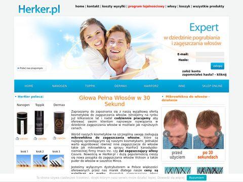 Herker.pl proszek do zagęszczania włosów