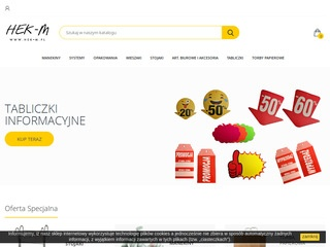 Hek-m.pl - wyposażenie sklepów