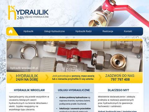 Hydraulik-wroclaw24h.pl Udrażnianie rur