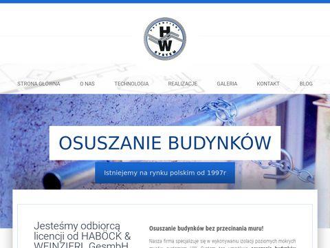Hwizolan.pl osuszanie budynków