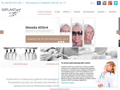 Implant-Art - chirurgia stomatologiczna Mokotów