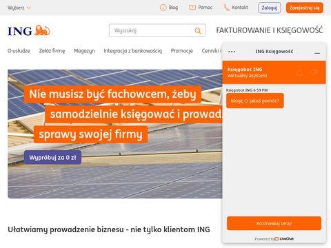 ING Bank Śląski - księgowość