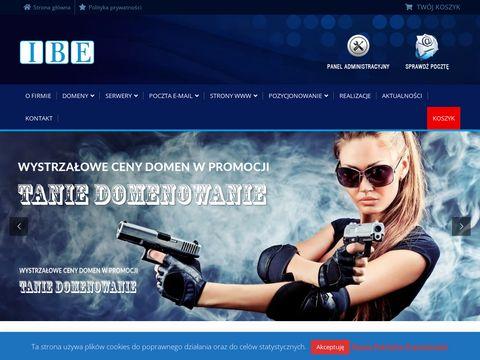 Ibe.pl strony internetowe Warszawa