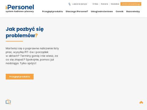 Ipersonel.pl system kadrowy