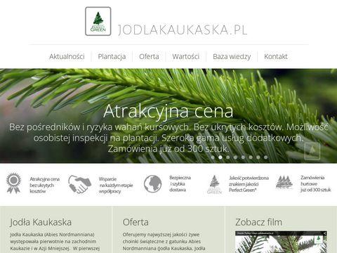 Jodlakaukaska.pl - najładniejsze drzewka świąteczne