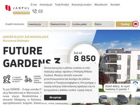 Janpul.pl deweloper nowe mieszkania Warszawa