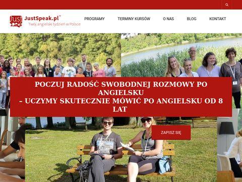 JustSpeak - obóz językowy anglia