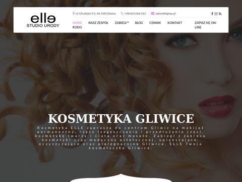 Kosmetykaelle.pl przedłużanie rzęs Gliwice